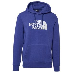 NWT The north face blue fleece logo hoodie size S